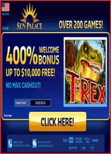 Claim Up To $10,000 Free Slots Bonus Money At Sunpalace
