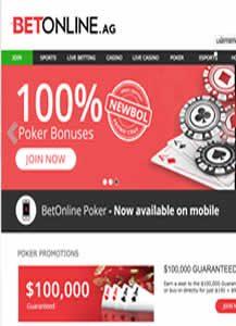 BetOnline Poker Site