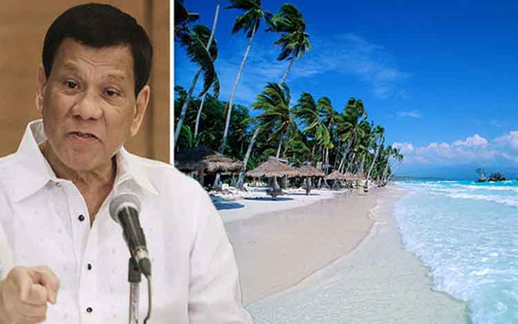 PH President discusses Boracay