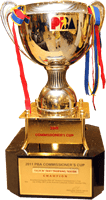 Trphy for Commissioner's Cup winner