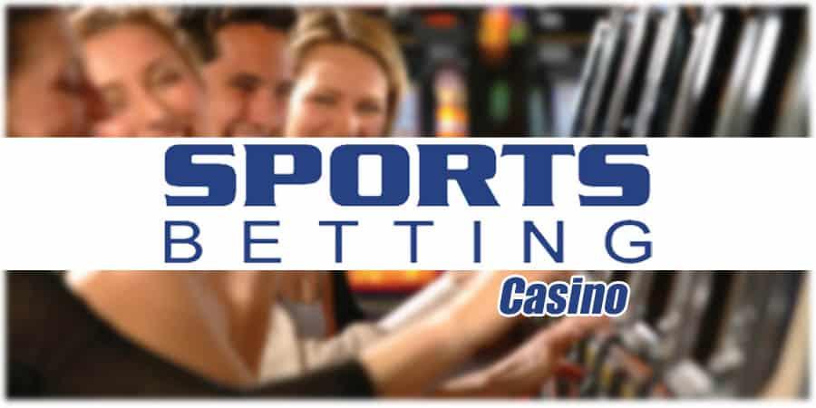 Sportsbetting.ag logo on casino background