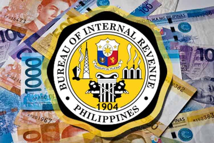 BIR logo and PH money