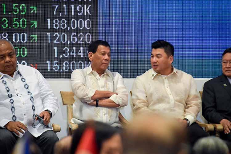 Dennis Uy and Rodrigo Duterte