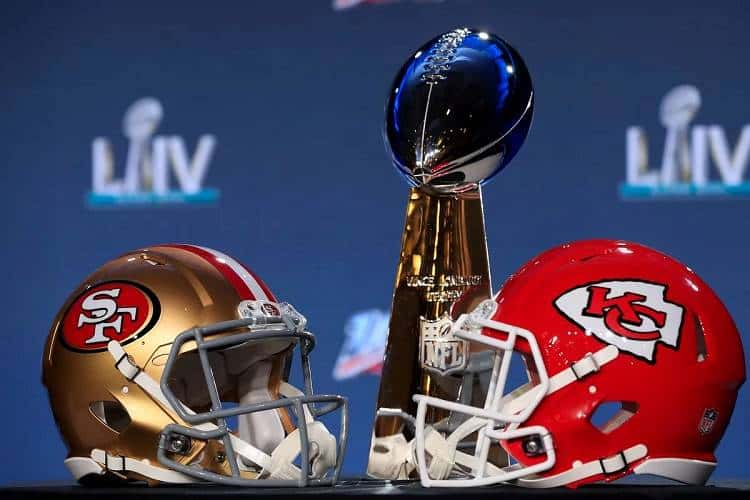 Super Bowl LIV Chiefs vs. 49ers