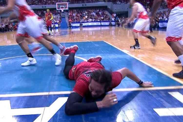 june mar fajardo injury pba basketball star