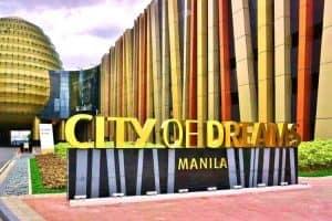 city of dreams manila sign