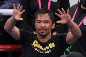 manny pacquiao ugas post fight