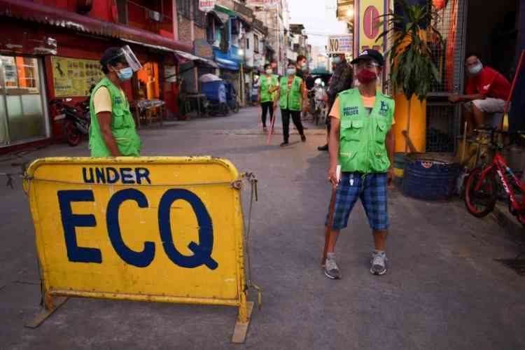 new august 2021 philippine covid lockdown in manila